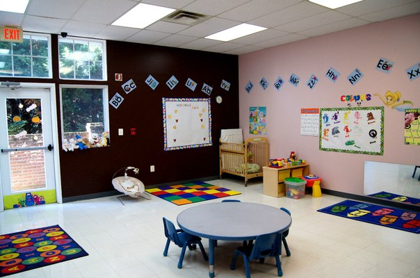 infants room at day care