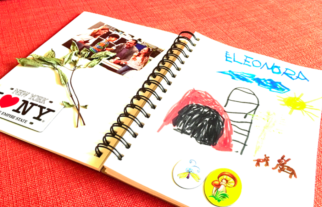 travel journal kids activity